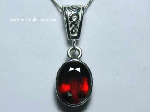 hessonite garnet jewelry