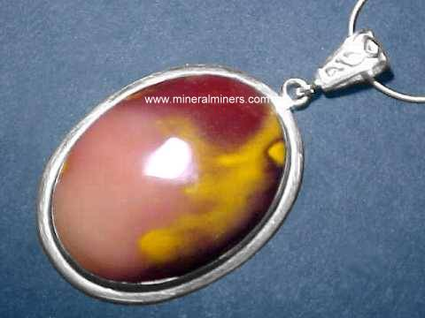 Mookaite Jewelry (Jasper Necklace): Australian Mookaite Necklace
