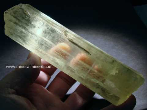 Kunzite Lapidary Rough