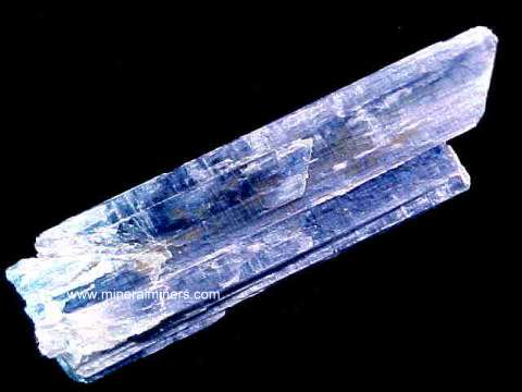 Kyanite Crystal: Blue Kyanite Crystal