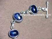 Kyanite Bracelet: blue kyanite bracelet