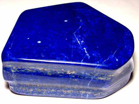 Lapis Lazuli: natural color polished lapis lazuli decorator specimens