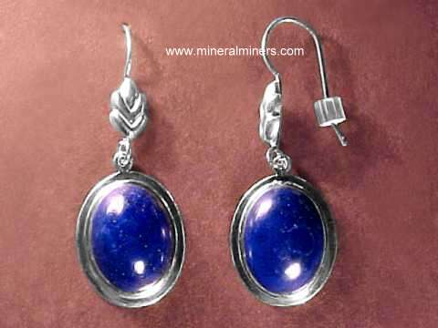 Lapis Lazuli Earrings