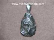 Meteorite Jewelry: genuine etched meteorite jewelry