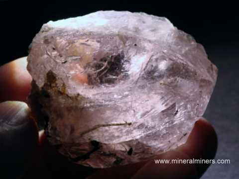 Morganite Facet Grade Gem Rough
