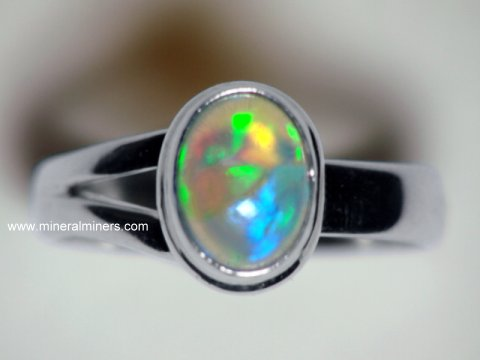 Opal Ring: Ethiopian Opal Ring