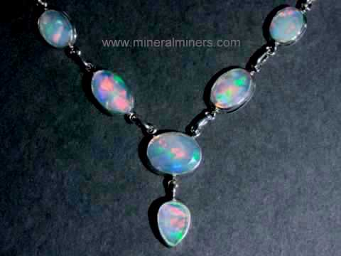 Large Image of opaj420_opal-necklace