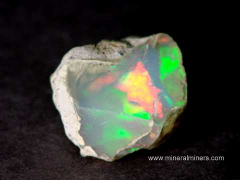 Ethiopian Opal Gem Grade Lapidary Rough Specimens