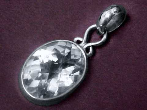 Quartz Crystal Jewelry: natural rock crystal quartz Jewelry