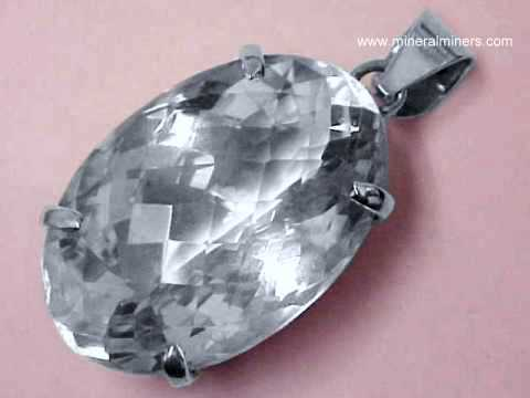 Rock Crystal Quartz Pendant