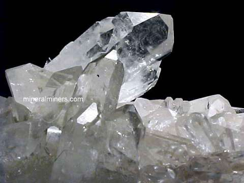 Quartz Clusters & Rock Crystal Quartz Mineral Specimens link