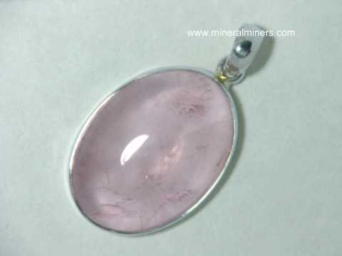 Rose Quartz Pendants