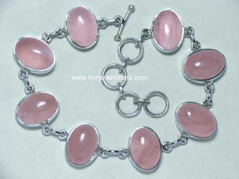 Large Image of rsqj186_rose-quartz-bracelet