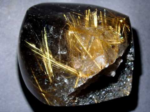 Golden Rutilated Quartz Decorator Specimen