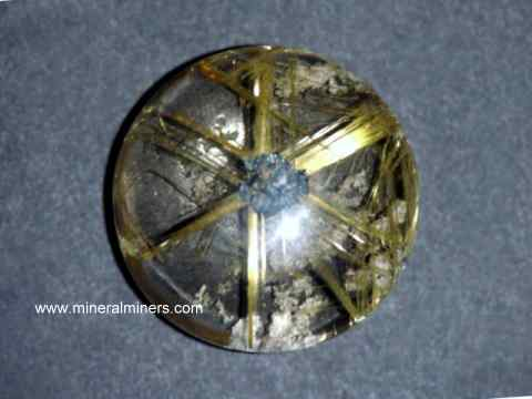 Golden Rutile Star Gemstones