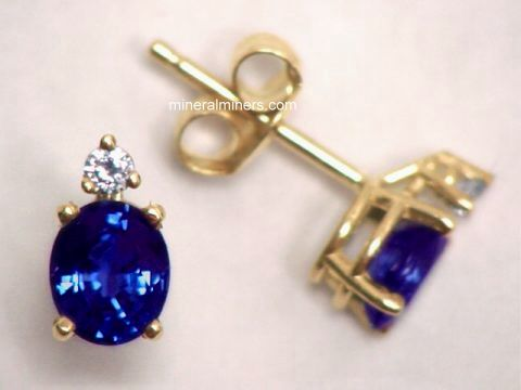 Large Image of sblj201a_blue-sapphire-earrings