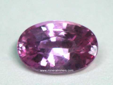 GIA Certified Natural Pink Sapphire Gemstone