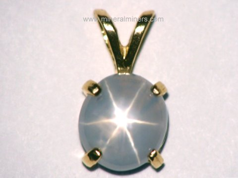 Star Sapphire Necklaces