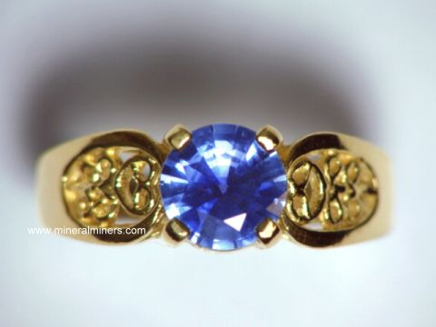 Large Image of sblj227_blue-sapphire-ring