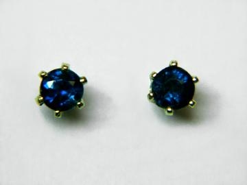 Large Image of sblj233_blue-sapphire-earrings
