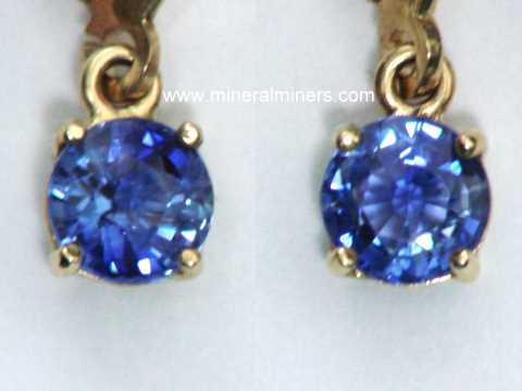 Large Image of sblj237_blue-sapphire-earrings