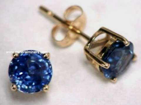 Large Image of sblj243_blue-sapphire-earrings