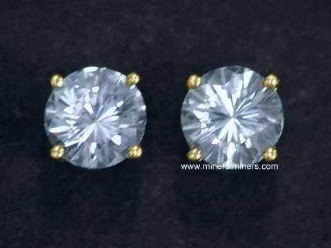 Large Image of swhj140_white-sapphire-earrings