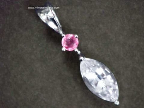 Large Image of swhj142_white-sapphire-jewelry
