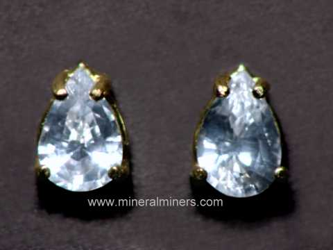 Large Image of swhj147_white-sapphire-earrings