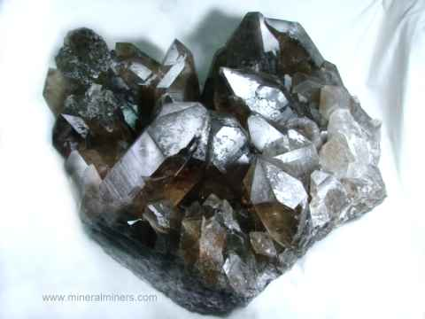 Smoky Quartz Mineral Specimens and Crystals