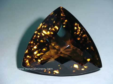 Smoky Quartz Gemstones (cairngorm gemstones)