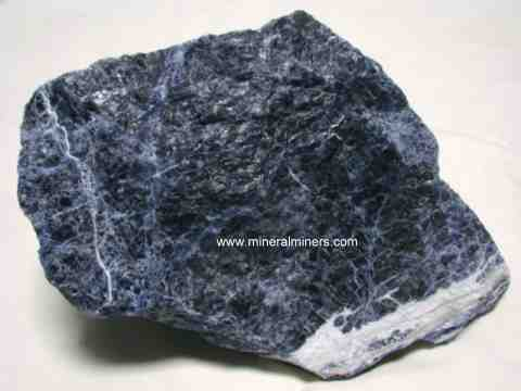 Sodalite Lapidary Rough