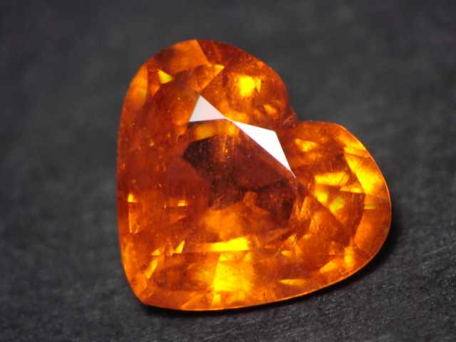 Mandarin Orange Spessartite Garnet Gemstone
