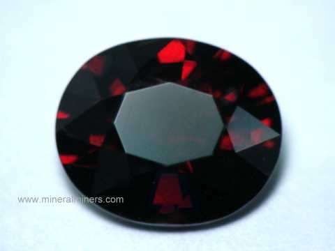 Red Spessartite Garnet Gemstone