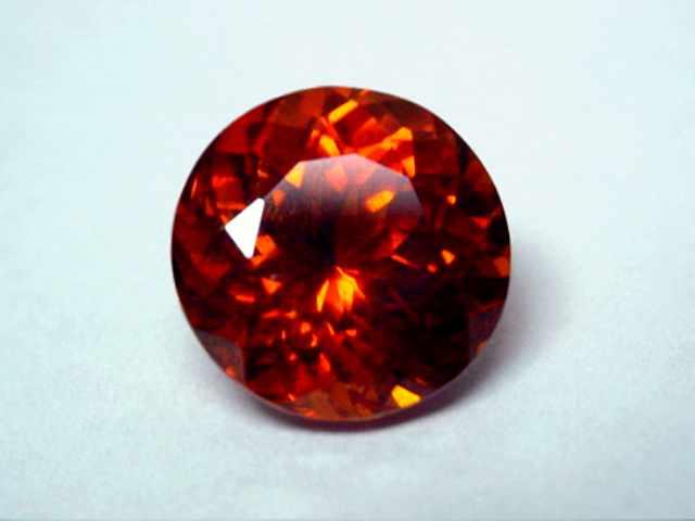 Garnet Gem spessartite garnet gem has