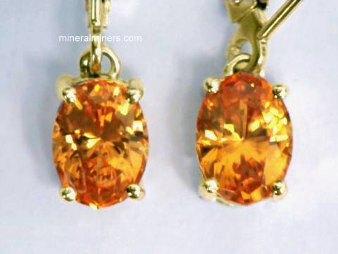 Large Image of spej162_mandarin-garnet-earrings