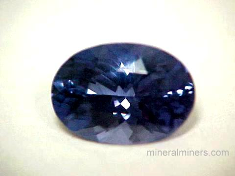 Blue Spinel Gemstone