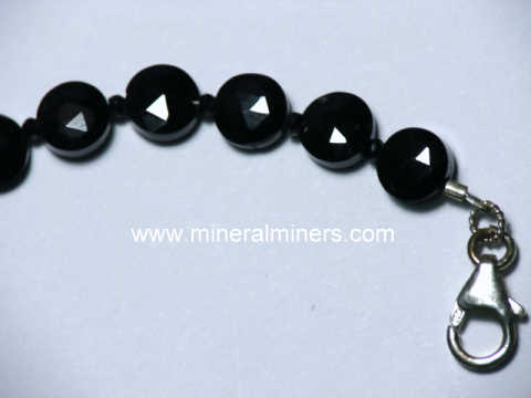 Spinel Jewelry: natural black spinel jewelry