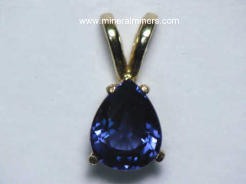 Spinel Jewelry: natural blue spinel jewelry