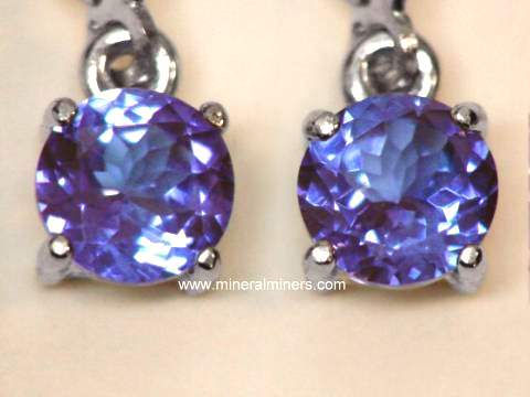 Large Image of tanj249a_tanzanite-earrings