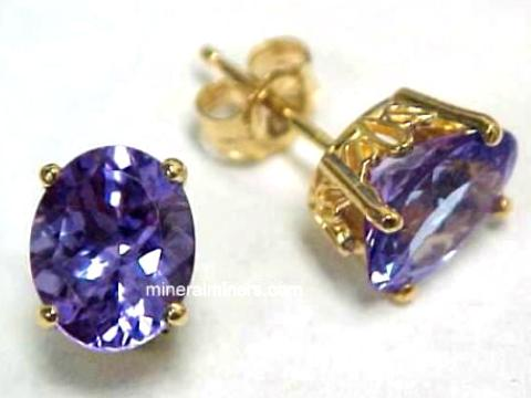 Large Image of tanj260_tanzanite-earrings