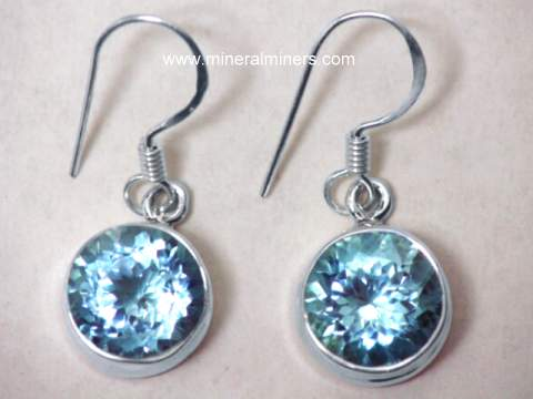 Large Image of topj294_blue-topaz-earrings