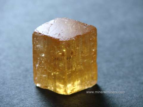 Imperial Topaz Crystals: natural color imperial topaz crystals