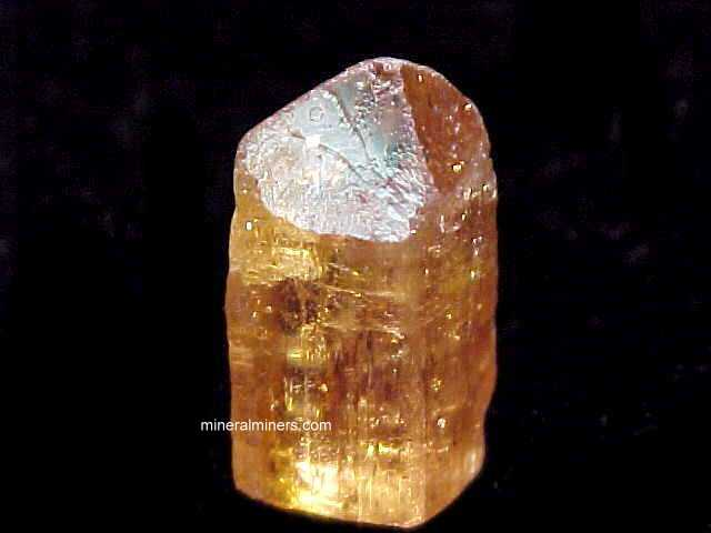 Imperial Topaz Crystals and Topaz Mineral Specimens - Natural Color