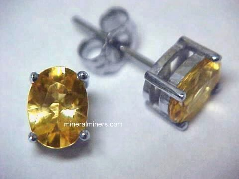 Topaz Earrings (imperial topaz earrings)