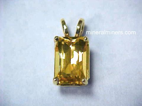 Golden Topaz Jewelry