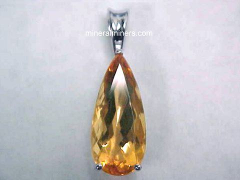 Topaz Necklaces - Imperial Topaz Necklaces