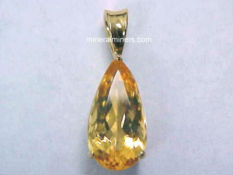 Topaz Necklaces (natural color golden topaz necklaces)