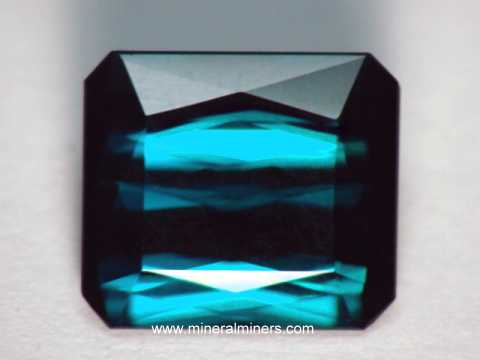 Blue Tourmaline Gemstone