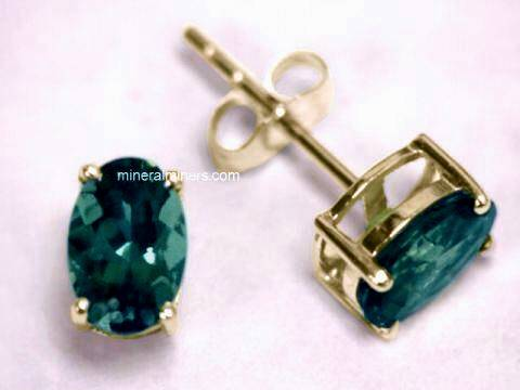 Large Image of tblj214aa-blue-tourmaline-earrings